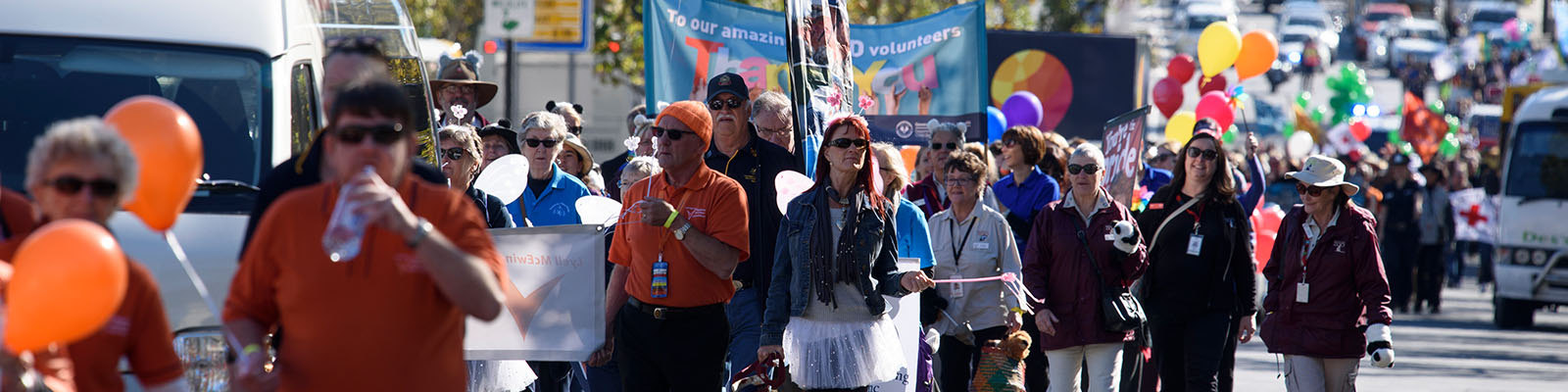 National Volunteer Week Parade Adelaide May 2017